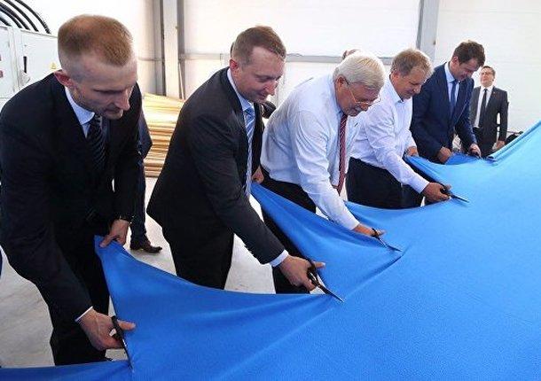 Под Томском запустили цех по выпуску трикотажного ворсового полотна